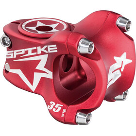 Spank Spike Race - Potencia - Ø 31,8 mm rojo